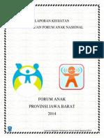 Laporan Forum Anak Nasional 2014