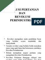 Revolusi Pertanian Dan Revolusi Perindustrian