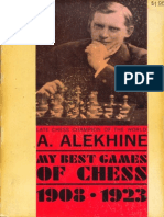 Alexander Alekhine - My Best Games of Chess 1908-1923 Ed 1927