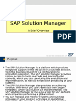 SAP Solution ManagerOverview.ppt