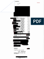 Wine receipts