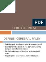 K - 38 Cerebral Palsy (Ilmu Kesehatan Anak)