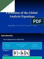 Chapter 3 - Global Analysis Equations