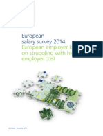 European salary survey 2014
