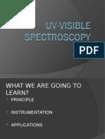 29304439 Uv Visible Spectroscopy