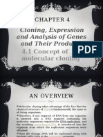 Chapter 4.1.Concept of Molecular Cloning