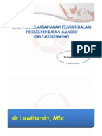 Cara RS Melaksanakan Telusur Penilaian Mandiri - Dr. Luwiharsih MSc