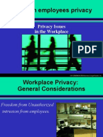 SHRM UNIT II Workplace-Privacy