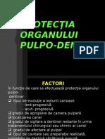 protecţia Pulpo Dentinară