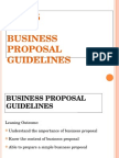 English Unit 5 Business Proposal Guideline