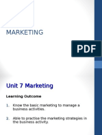 English Unit 7 Marketing