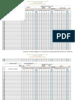 Califica en Excel de Octavo a Décimo a.e.g.b