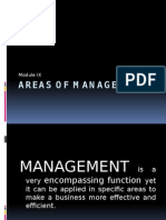 Areas of Management (1)