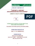 Khalid Exp Imp Doc Procedure