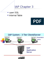 ABAP Open SQL & Internal Table