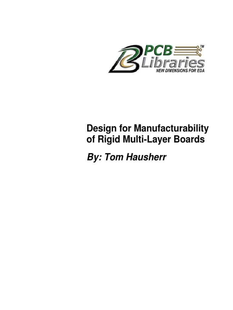 Design For Manufacturability Of Rigid Multi Layer Boards Printed Multilayer Wiring Board Circuit Capacitor