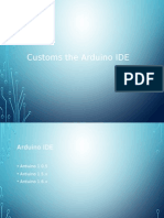 Customs the Arduino IDE