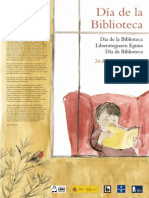 Cartel Dia Biblioteca 2015 (19-23 Octubre)
