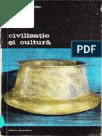 Civilizație și cultură