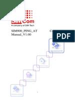 Sim900 Ping at Command Mannual v1.00