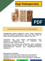 Patofisilogi Osteoporosis