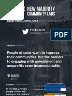 New Majority Community Labs Brief