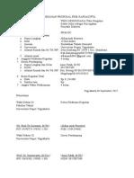Pengesahan Proposal Pkm