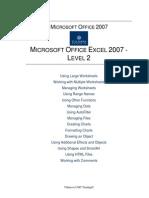 MSExcel2007-Level2