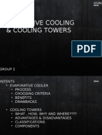 Evaporative cooling & cooling towers