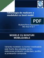 Tehnologia Realizarii Modelelor Cu Bont