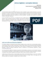 Recursos educativos digitales_ Conceptos básicos