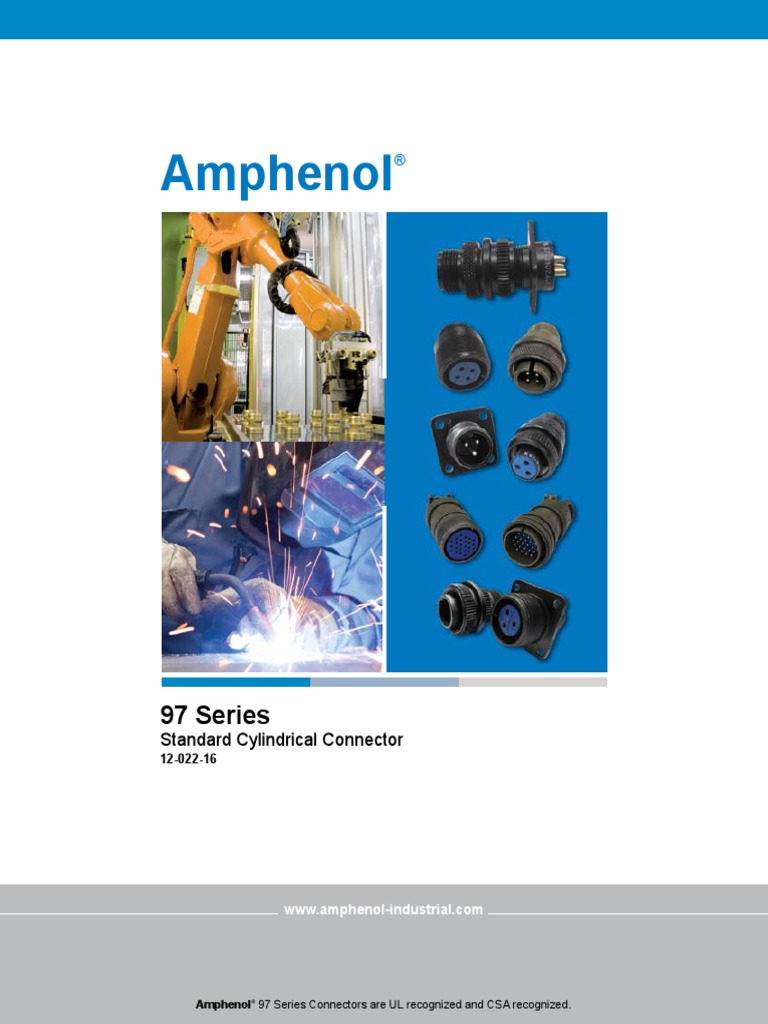 AMPHENOL INDUSTRIAL 97-3057-1016 CABLE CLAMP SIZE 24//28 ZINC ALLOY