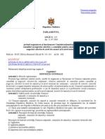 Legea Nr. 245 Privind Comisia de Conciliere