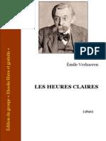Les Heures Claires - Émile Verhaeren