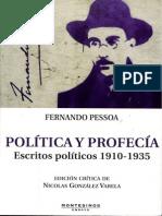 Pessoa Fernando - Politica Y Profecia