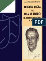 Antonio Ayora y El Aula de Teatro Del Instituto San Isidro de Madrid