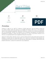 Biografia de Pericles