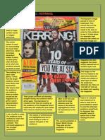 Analysis of Music Magazine Kerrang