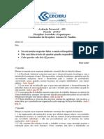 AP1 - 2º_sem2014 Gabarito SOC ORG