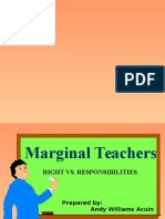 Marginal Teacher