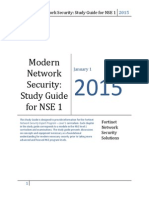 Modern Network Security NSE1 Study Guide eBook