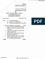 Ece-035 Engineering Hydrology 2014-15