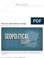 New Year, Old Problems in Europe _ Stratfor