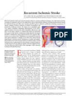 Prevention of Recurrent Ischemic Stroke
