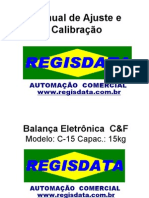 Manual de Calibração de Balanças C&F