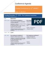 WARFS Antigua 2015 Conference Program