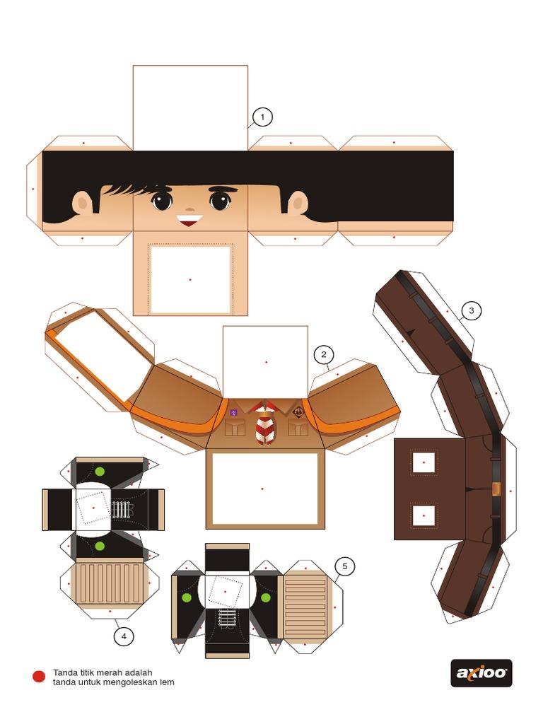 Papercraft Pramuka