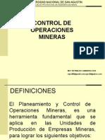CAPITULO I Contros de Operaciones