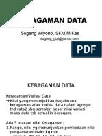 Keragaman Data