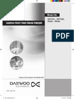 Daewoo DAEWOO FROST FREE FRIDGE FREEZER